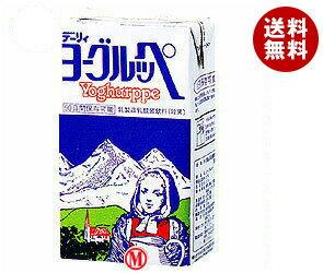 【送料無料】【2ケースセット】南日本酪農協同(株) デーリィ ヨーグルッペ 1L紙パック×12(6×2)本入×(2ケース) ※北海道・沖縄・離島は別途送料が必要。
