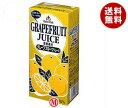 【送料無料】ゴールドパック グレープフルーツジュースEX 1L紙パック×12(6×2)本入 ※北海道 沖縄 離島は別途送料が必要。