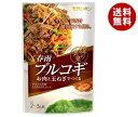 送料無料 モランボン 韓の食菜 春雨プルコギ 140g×10袋入 ※北海道・沖縄・離島は別途送料が必要。