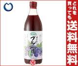 【】マルカイ 順造選 目が生きいき ブルーベリー(80%)500ml瓶×12本入