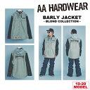 19-20 AA HARDWEAR(ダブルエーハードウェア) BARLY JKT -THRASHER- [BLOND COLLECTION LTD] 【送料無料】【代引き手数料無料】【日本正規品】