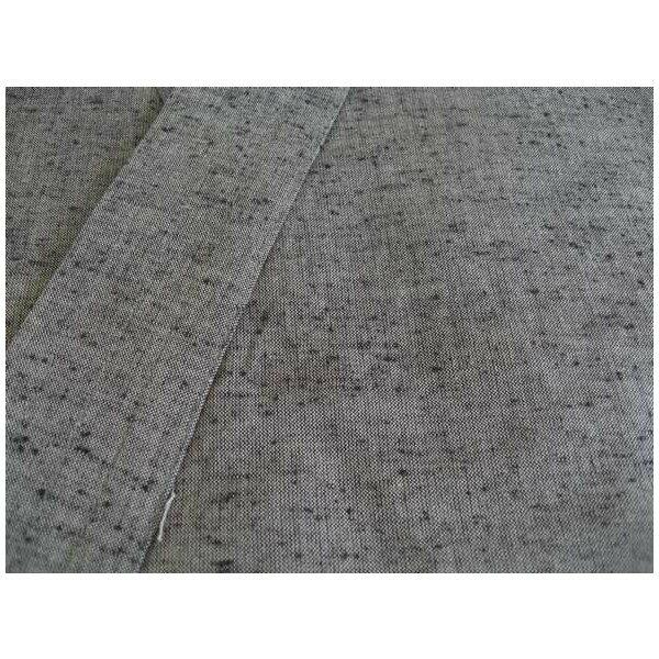 久留米絣 作務衣 紳士用(灰)の紹介画像2