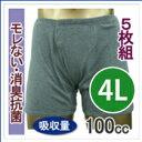 【33015】【大きいサイズ】【4Lサイズ5枚組15%OFF】