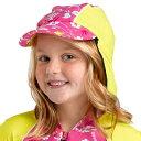 【メール便OK】子供用の紫外線対策!UVカット率は最高値のUPF50+!オーストラリア直輸入!ラッシュガードとセット購入がオススメ♪【レビューを書いてメール便送料無料♪】キッズキャップ(ST54H)ハワイ柄・子供用たれつき帽子【あす楽対応】【10P26Aug11】