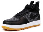 """NIKE [ナイキ ルナフォース1フライニットワークブーツ アイコンリミテッドエディション] LUNAR FORCE I FLYKNIT WORKBOOT """"LIMITED EDITION for ICONS"""" BLK/GRY/WHT/GUM (855984-001)"""
