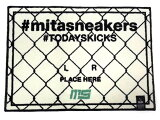 "MAGIC STICK [マジックスティック トゥデイズキックスタグマット ミタスニーカーズ] #TODAYSKICKS TAG MAT ""mita sneakers"" DOLLAR (TODAYSKICKS-TAGMAT-mitasneakers-03)"
