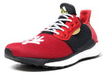 "adidas [アディダス ソーラーヒューグライドメンズチャイニーズニューイヤー チャイニーズニューイヤー ファレルウィリアムス ヒューコレクション] SOLAR HU GLIDE M CNY ""CHINESE NEW YEAR"" ""PHARRELL WILLIAMS"" ""HU COLLECTION"" RED/BLK/GLD/WHT (EE8701)"