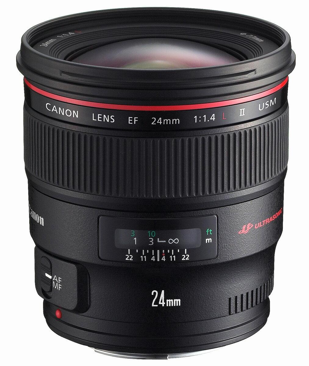 [3年保険付] Canon EF24mm F1.4L II USM『1~2営業日後の発送』薄暗い室内や光量の足りない場所で活躍するF1.4の大口径・広角レンズ【RCP】[fs04gm][02P05Nov16]