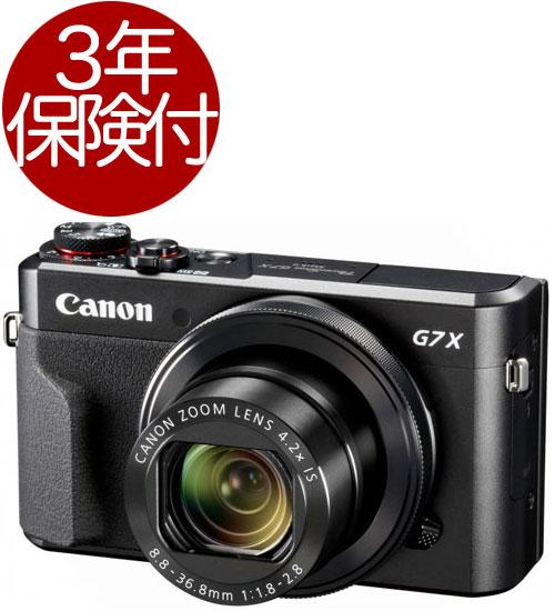 Canon PowerShot G7X MarkII『即納』【あす楽対応】[高性能プレミアムモデルデジタルカメラ!コンパクトボディに1.0型・約2010万画素の大型CMOSセンサー&大口径レンズを搭載したWi-Fi対応プレミアムデジタルカメラ]【smtb-TK】[fs04gm][02P01Oct16]