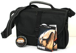 DOMKEF-803WAXBlack『即納』【あす楽対応】黒いワックスコットンを使用したワックスウェアカメラバッグF803ワックスブラック【RCP】[fs04gm][02P13Jun14]