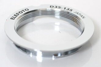 ELEFOTO Leica M bayonet mount adapter ring (35 mm/135 mm M39-LM ring)