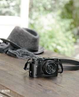 Fujifilm X-M1 for leather case BLC-XM1 in 1-3 business days after shipment appointment leather case that adapts and strap set