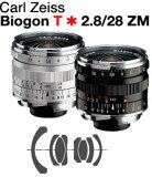 Carl Zeiss Biogon T*F2.8/28mm ZM Mount Lens『即納』【あす楽対応】ライカMマウントビオゴン広角レンズ【RCP】[fs04gm][02P15Feb15]