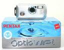 [B級品・3年保険付]【水深1.5m防水・レンズが出てこない3倍光学ズーム】PENTAX Optio WPi シルバー『数量限定即納』【RCP】[fs04gm][02P05Nov16]
