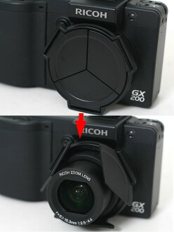 RICOH GX200/GX100 for automatic retractable lens cap LC-1 3-4 business days after shipment appointment fs3gm