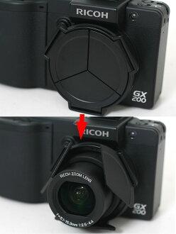 RICOH GX200/GX100용 자동 개폐식 렌즈 캡 LC-1 「3~4 영업일 후의 발송 예정」fs3gm
