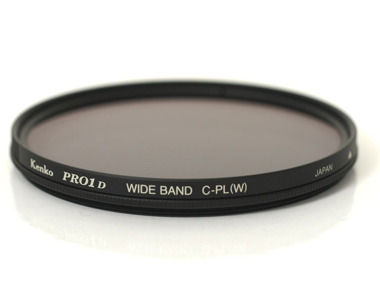 "72 Mm Kenko PRO1D wideband circular PL (W) ""immediate delivery ~ 3 business days after shipping ' digital SLR compatible thin frame polarizing filter"