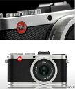 Leica X2 コンパクトデジタルカメラ シルバー#18452『3~4営業日後の発送』[クリエイティブな表現も被写体を自然な印象に捉える事もできるデジタルカメラ Made in Germany[02P23may13]