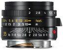 LEICA SUMMICRON-M 35 mm f/2 ASPH.ブラック 広角レンズ #11673[02P05Nov16]