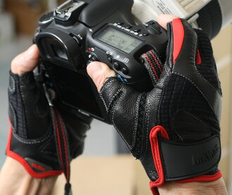 "Mister Mac multi glove ""immediate delivery ~ 3 business days after shipping ' thought about digital cameras and smart phones do the fingers punching grab (photo shooting gloves)"