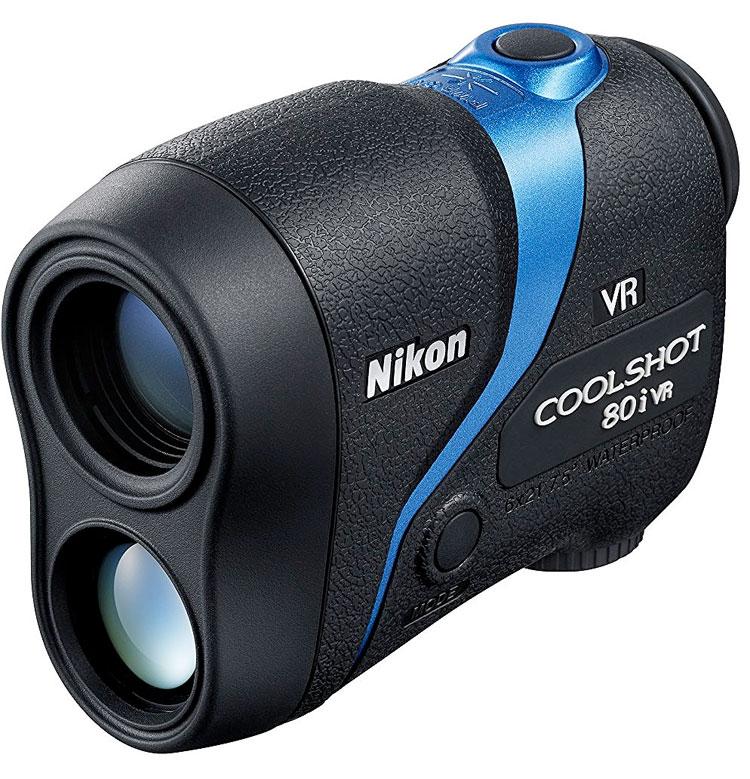 Nikon ゴルフ用レーザー距離計 COOLSHOT 80i VR『2016年10月21日発売』高低差測定が可能なレーザー距離計【RCP】[fs04gm][02P05Nov16]