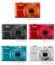 Nikon COOLPIX S6500 デジタルカメラ『即納?2営業日後の発送』[光学12倍ズーム搭載のスリムボディーなコンパクトデジタルカメラ。Wi-Fi対応ですぐに写真をスマホに送れるカメラ。]【smtb-TK】[02P11Jun13]