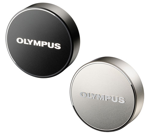 "Lens cap (silver / black) ""shipment"" fs3gm made by OLYMPUS LC-61 metal"