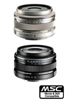 "OLYMPUS M.ZUIKO DIGITAL 17 mm F1.8 (Black/Silver) ""Silver: commodities scarce and dispatched ships going black after 1-2 weeks: 1-3 business days after the ' large diameter single focus wide angle lens fs3gm"