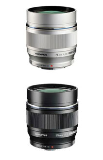 "An OLYMPUS M.ZUIKO DIGITAL ED75mmF1.8 (silver / black) ""shipment large diameter single focus telephoto lens three business days after immediate delivery ...."" It is most suitable for portrait photography! fs3gm"