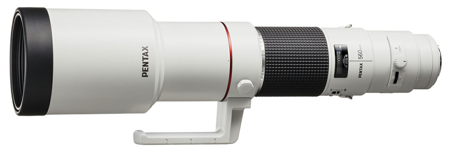 "Super-telephoto lens K Mount Pentax HD Pentax-da 560mmF5.6ED AW (with case) ""release date TBA book' fs3gm"