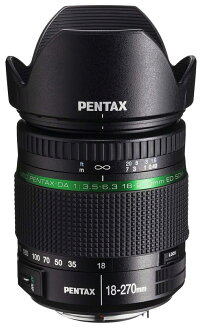 "Pentax smc PENTAX-DA 18-270mmF3.5-6.3ED SDM K Mount high-magnification zoom lens ""3 to 4 business days after shipping,"