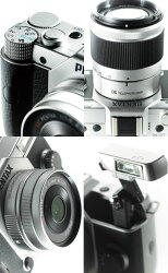 PENTAXQ7���֥륺���७�åȥ쥮��顼���顼��¨Ǽ��2�Ķ�����ȯ��ͽ��١ʥ���С�/�֥�å�/�����?��Q7��02STANDARDZOOM(5-15mmF2.8-4.5)+06TELEPHOTOZOOM(15mm-45mmF2.8)ɸ�ॺ����+˾�������åȡ�smtb-TK��[fs01gm]