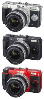 "Q10 PENTAX zoom lens Kit color ""quick delivery-2 business days after shipping plan ' (silver/black/red) Q10 + 02 STANDARD ZOOM(5-15mmF2.8-4.5)"