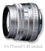 "[Three-year insurance] Pentax FA77mmF1.8 Limited Silver ""delivery TBD reserved], [fs04gm] [02P05Dec15]"