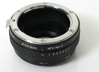 "レイコール / Palace manufacturing co., Ltd. G lens for NikonF G → micro four thirds adapter ""prompt delivery ~ 3 business days after shipping, Nikon F → Micro FourThirds Adapterfs3gm"