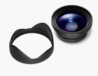 "RICOH wide conversion lens GW-2 magnification: 0.75 x ""immediate delivery ~ 3 business days after shipping, fs3gm"