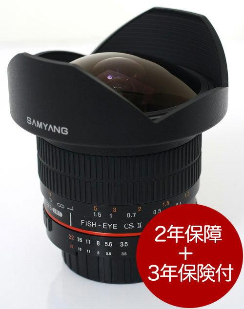 SamYang 8mm F3.5 FISH-EYE CSII LENS for Nikon AE『即納〜3営業日後の発送』魚眼の湾曲世界が撮れるフィッシュアイレンズ[ニコンFマウント]【smtb-TK】【RCP】[fs04gm][02P05Nov16]