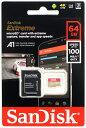 サンディスク エクストリーム 64GB マイクロSDXCカード Class10 UHS-Iクラス3 ビデオクラスV30 SDSQXAF-064G-GN6MA UHSスピードクラス3 microSDカードワールドワイドパッケージ 02P01Oct16