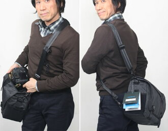 "Camera bag [02P24Feb14] where standard zoom intermediate one eye double zoom and flash bulb degree storing including 638-371 テンバ DNA11 messenger camera bag ""shipment 70-200mmF2.8 lenses after the 2~3 business day"" belonging to are possible"