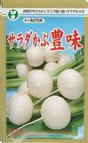香味浓郁沙拉萝卜萝卜种子(5毫升)[かぶ 種 サラダかぶ豊味 (5ml)]