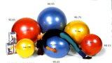 ギムニクボディボール95【バランスボールボディボール95】青、ギムニクボール