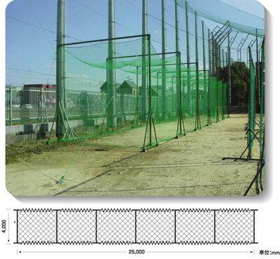 (メーカー直送)野球用ネット【組立式バッティングゲージ】野球フェンス【銀行前払いまたはクレジット払い扱い・別途送料商品】