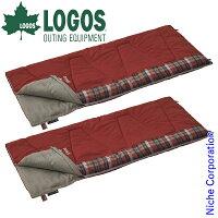 ロゴス 丸洗いスランバーシュラフ・-2 2点セット LGS0-R12AH007 キャンプ用品の画像