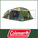 (Coleman)コールマン ラウンドスクリーン2ルームハウス [ 170T14150J ] [ コールマン coleman | キャンプ オートキャンプ用 テント | コールマン テント 2 ルーム | コールマン タープ | コールマン テント タープ ][P10]