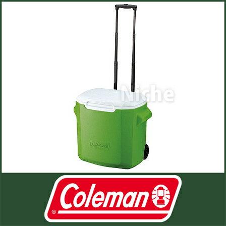 (Coleman)コールマン ホイールクーラー/28QT(グリーン) [ 20000104…...:mitsuyoshi:10014174
