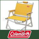 コールマン(Coleman) コンパクトフォールディングチェア (イエロー) [ 2000010508 ] [ コールマン チェア | アウトドア チェア | ...