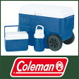 コールマン コンボホイール 56QT-5QT-1/3ジャグ(ブルー) [ 3000001360 ] [ Coleman コールマン クーラーボックス ]【送料無料】【廃番】