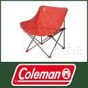 コールマン(Coleman) キックバックチェアST (レッド) [ 2000021990 ]