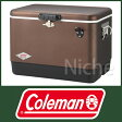 【完売】(Coleman)コールマン 54QTスチールベルトクーラー (コーヒー) [ 3000003741 ]