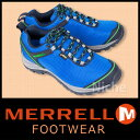 【在庫処分】MERRELL メレル カメレオン5 ストーム ゴアテックス メンズ(ブルー) [ M21455 ]【廃番】